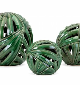Palmetto Wall or Deco Balls - Set of 3