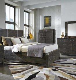 Wood Queen Panel Bed