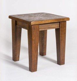 Calistoga End Table - Aged Sable
