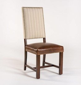 Weston Side Chair with Fabric Back