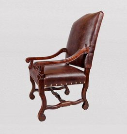 Monastery Arm Chair-All Leather