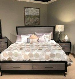 King Bedroom Black/Grey