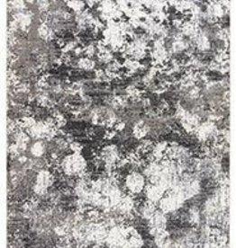Masonic Cloudburst Area Rug Black/Grey/White
