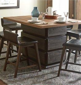 Homelegance Pub Table w/ Swivel Chairs