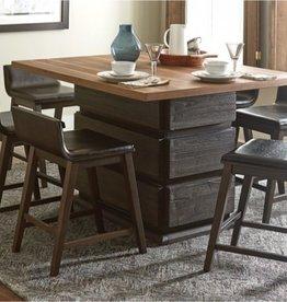 Homelegance Pub Table w/ Swivel Chairs