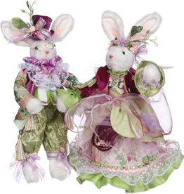 Mr & Mrs Fashion Bunny, 12-13""