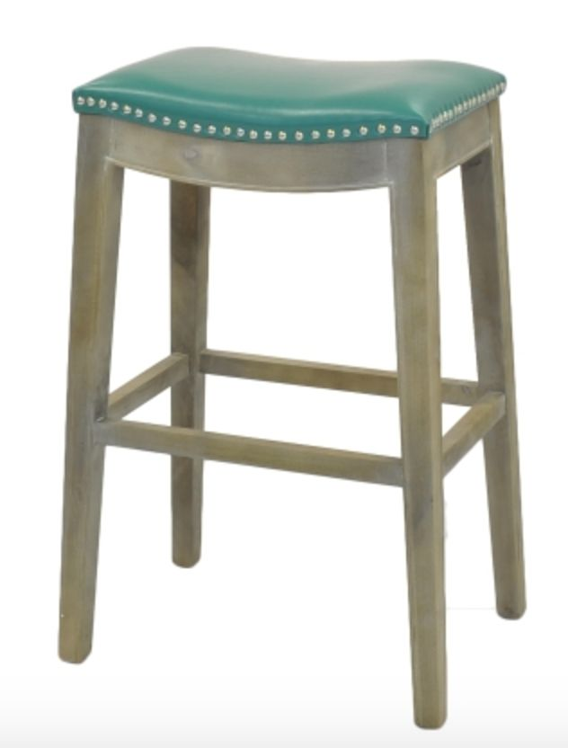 Turquoise Bar Stool Beckman 39 S