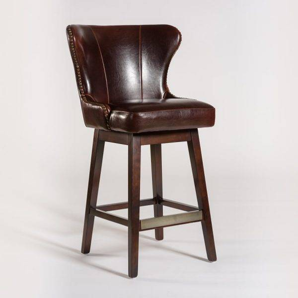Bar Stools Beckmans : rockwell swivel bar stool in old tannery and dark from www.kalispellfurniture.com size 600 x 600 jpeg 24kB