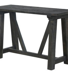 Wood Rectangular Sofa Table