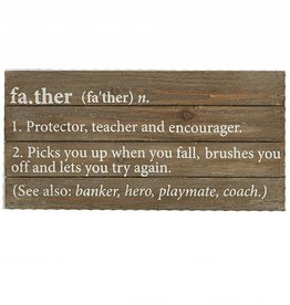 Father Plaque