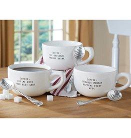 "Circa Big Mug Sets ""How Much Coffee"""