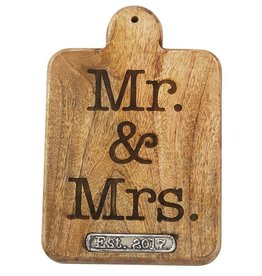 Mr. & Mrs. 2017 Paddle Board