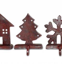 Montana Rustic Stocking Holders, Set of 3