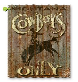 Cowboys Only 32x36