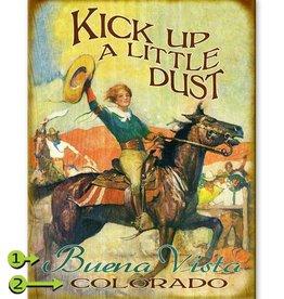 Kick Up A Little Dust 28x38