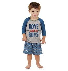 Boys Will Be Boys Rash Guard, XS