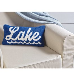 Lake Hooked Pillow