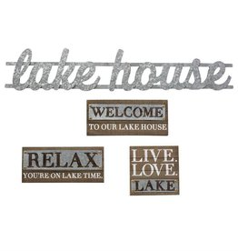 Relax Lake Plaque