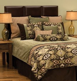Queen Bedding Set - Lemongrass