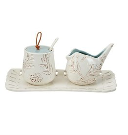 Nest Cream & Sugar Set