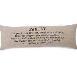 Family Long Pillow