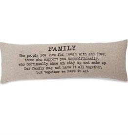 Family Long Pillow