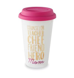 """Counselor, Teacher"" Travel Mug"