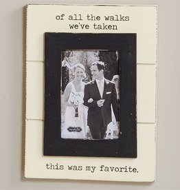 """Of All The Walks"" Frame"