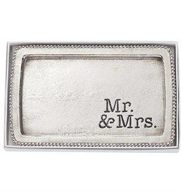 Mr. Mrs. Trinket Tray