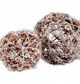 Crystals Set of 2 Spheres
