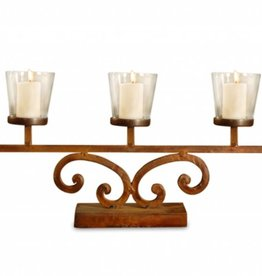 Prairie Votive Mantle Lighting