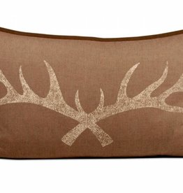 Antler Lumbar Pillow 26x16""
