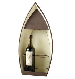 Boat Wall Wine Holder