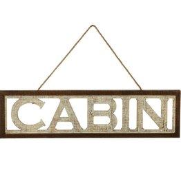 "OpenLetter""Cabin""WallDecor"