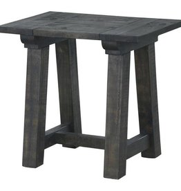 Wood Rectangular End Table