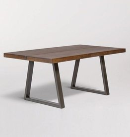 Brooklyn Dining Table in Chestnut and Burnished Riviera