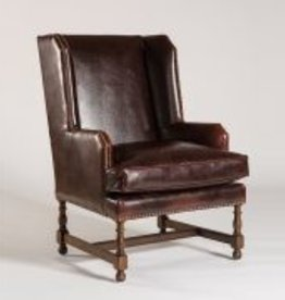 Churchill Occasional Chair in Old Tannery and Rubbed Espresso