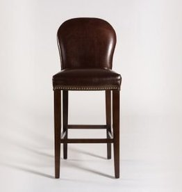 Claremont Counter Stool in Old Tannery and Dark Walnut