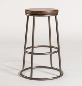 Loft Bar Stool in Refined Driftwood & Burnished Riviera