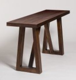 Mendocino Console Table in Dark Chestnut