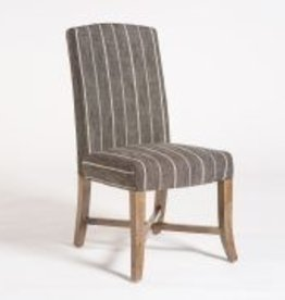 Mercer Dining Chair in Revere Dusk & Weathered Oak