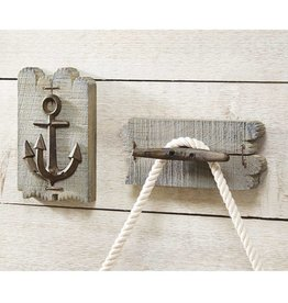 Lake Wood Wall Hook, Anchor