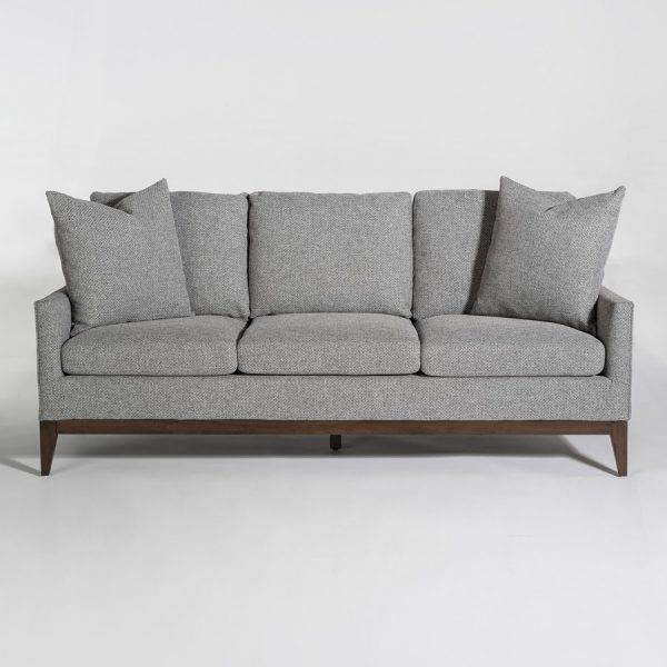 Portsmouth Sofa Subtle Graphite and Chestnut