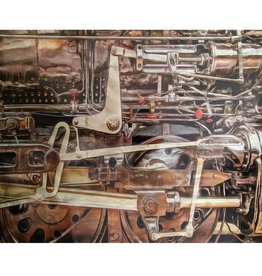 Train Engine Print Wall Art