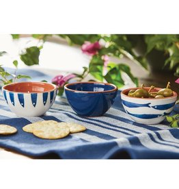 Blue Fish Dip Cups, Blue