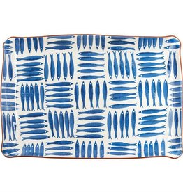 Blue Fish Couped Platter New