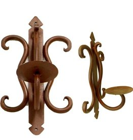 One Candle Iron Ruben Wall Holder