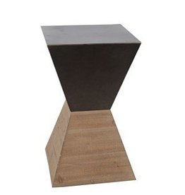 Privilege Large Accent Stand - Wood Iron