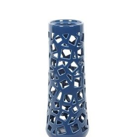 Privilege Medium Pierced Ceramic Vase