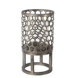 Privilege Small Candle Lantern - Iron